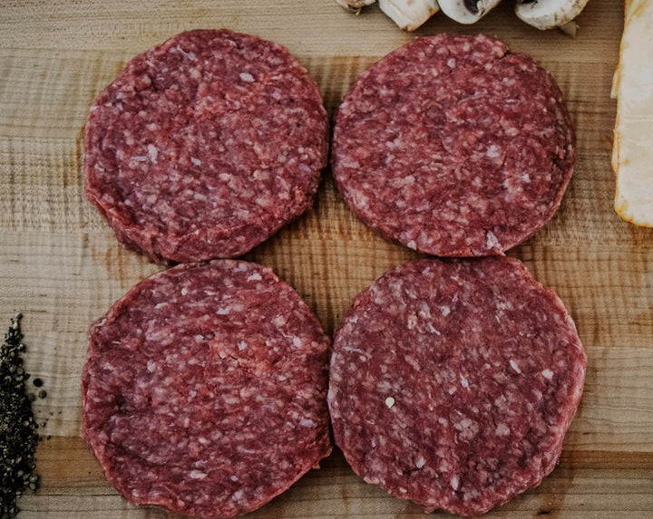 4 - 6 oz. Single-Animal Sourced ground beef patties Add-on