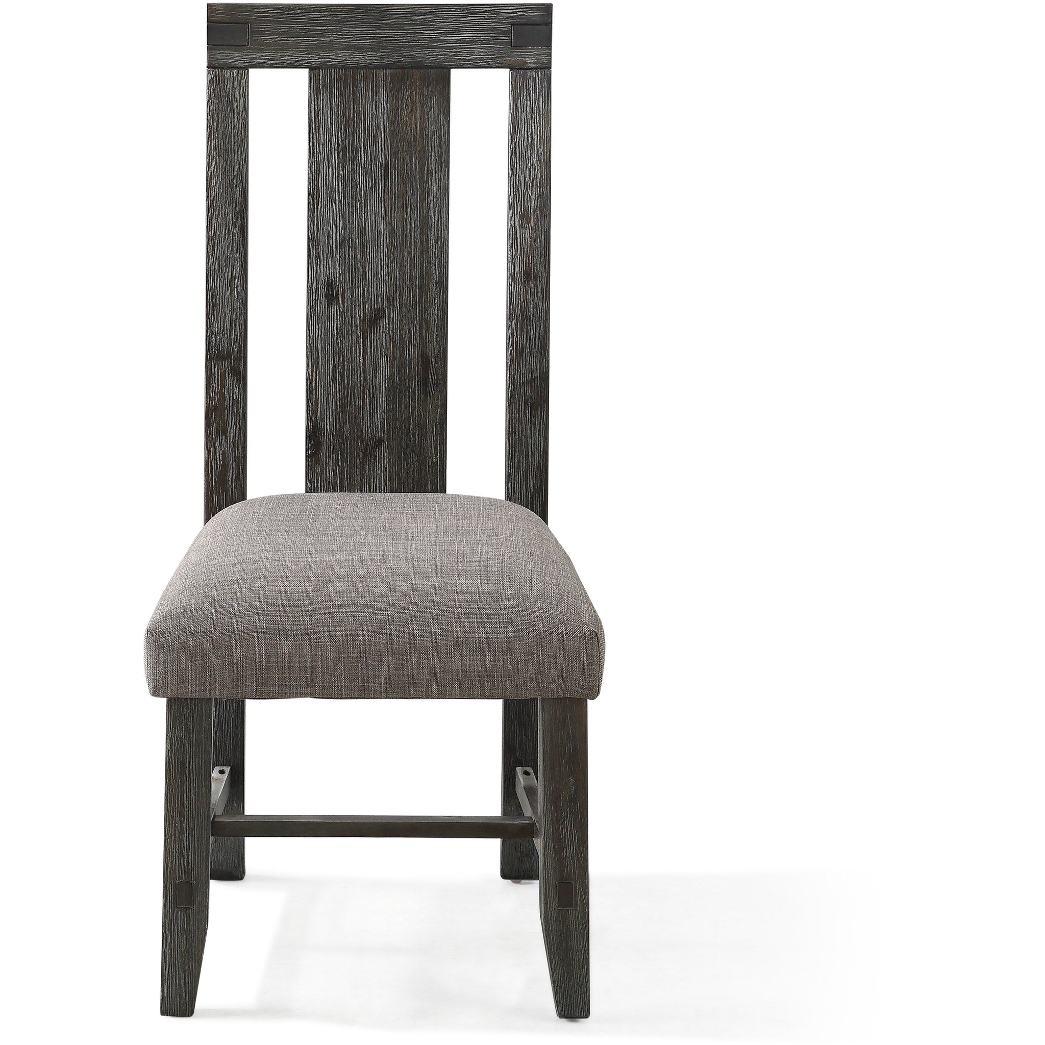 Meadow Solid Wood Uphostered Panel-Back Chair