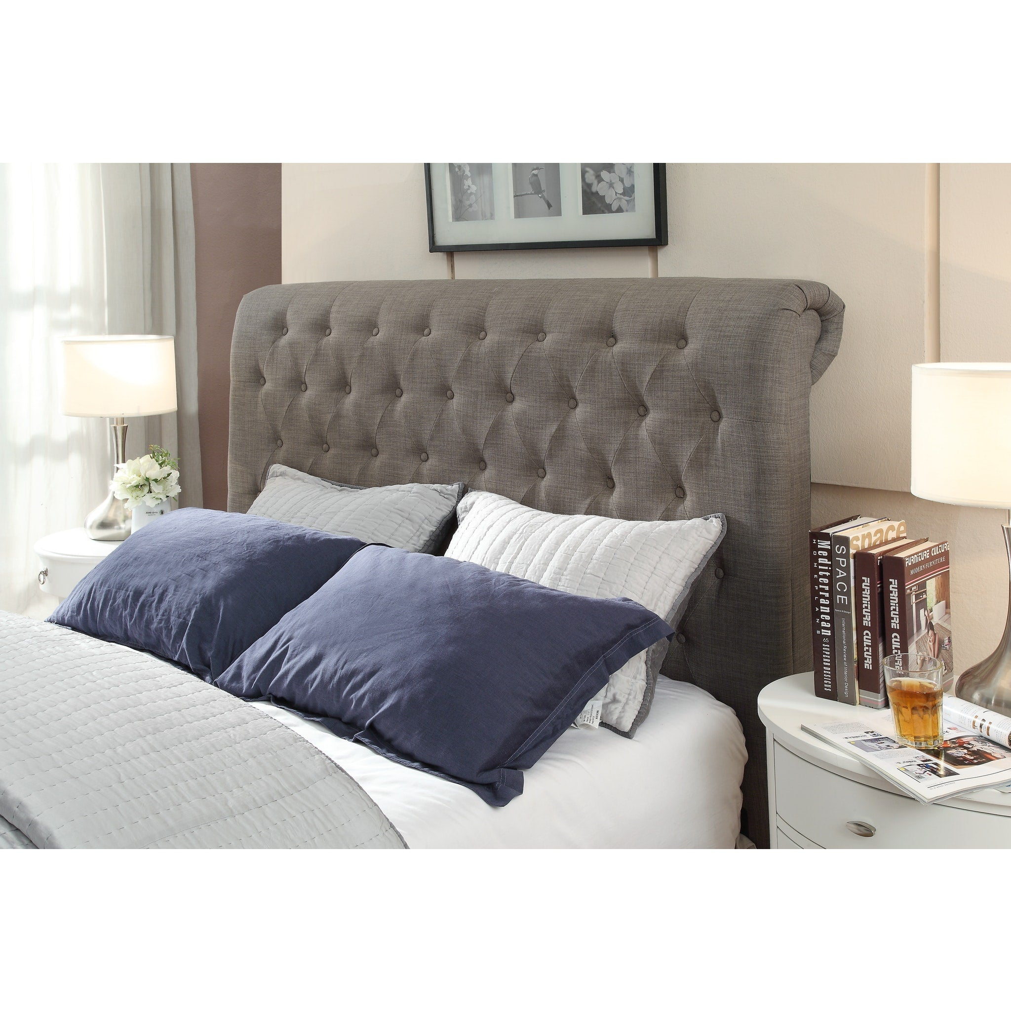 Royal King-size Tufted Headboard