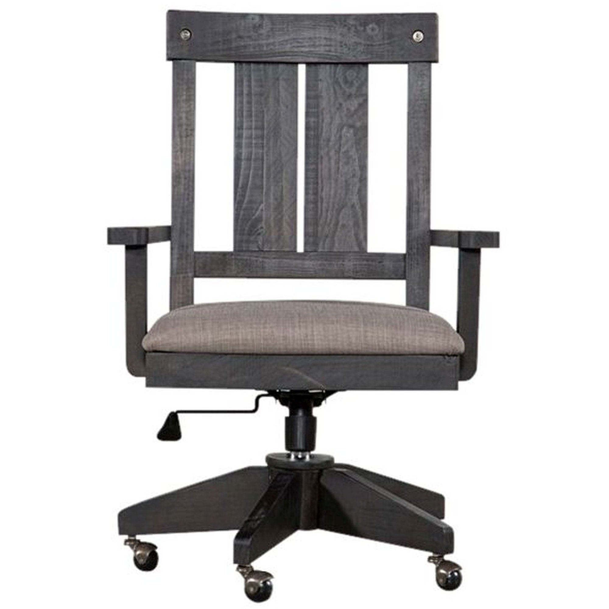Yosemite Solid Wood Arm Chair in Cafe