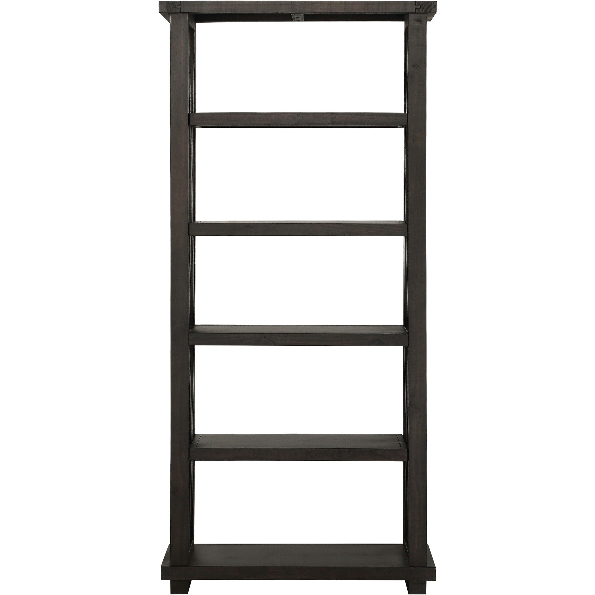 "Yosemite Solid Wood 82x39"" Bookshelf in Café"