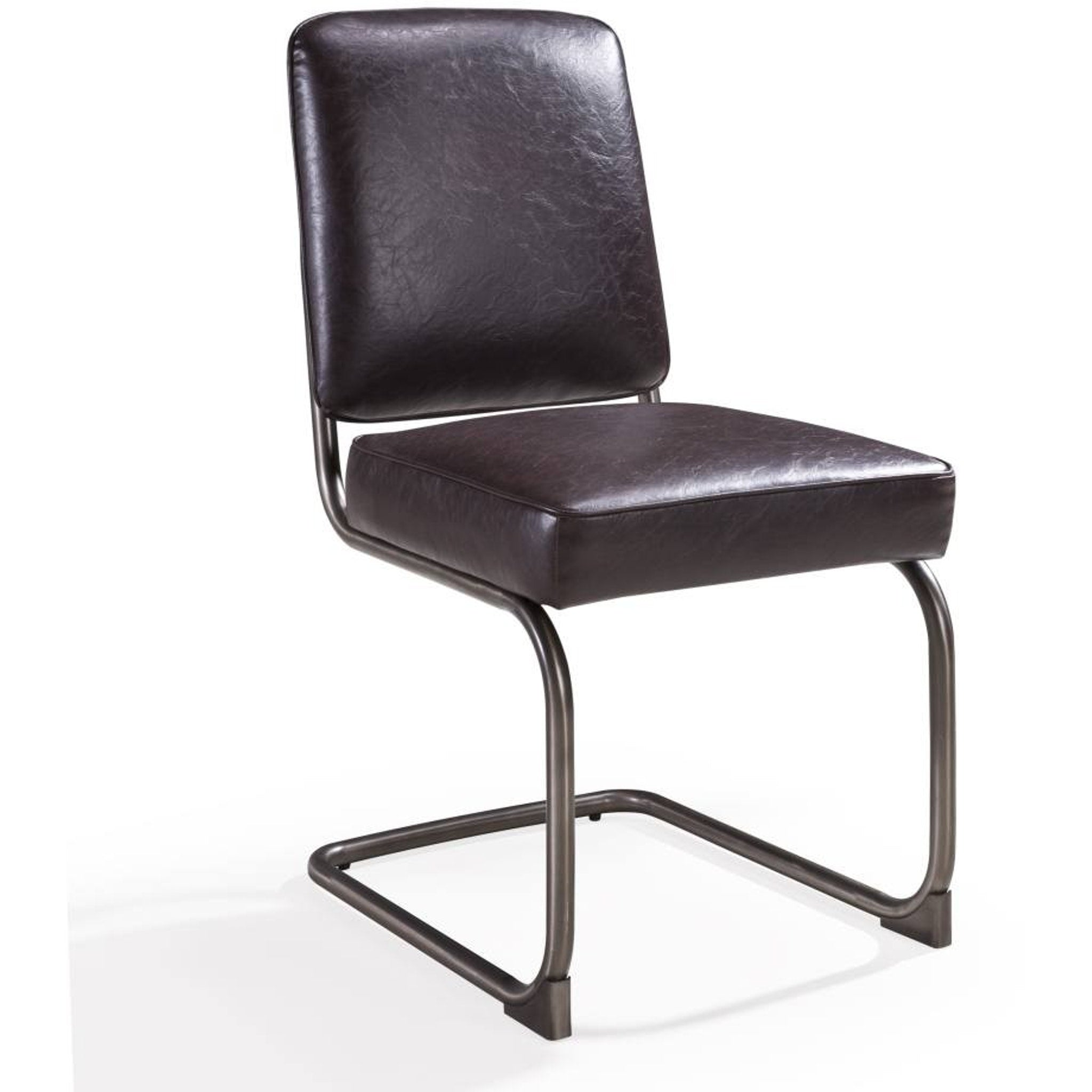 State Breuer-style Dining Chair in Chocolate