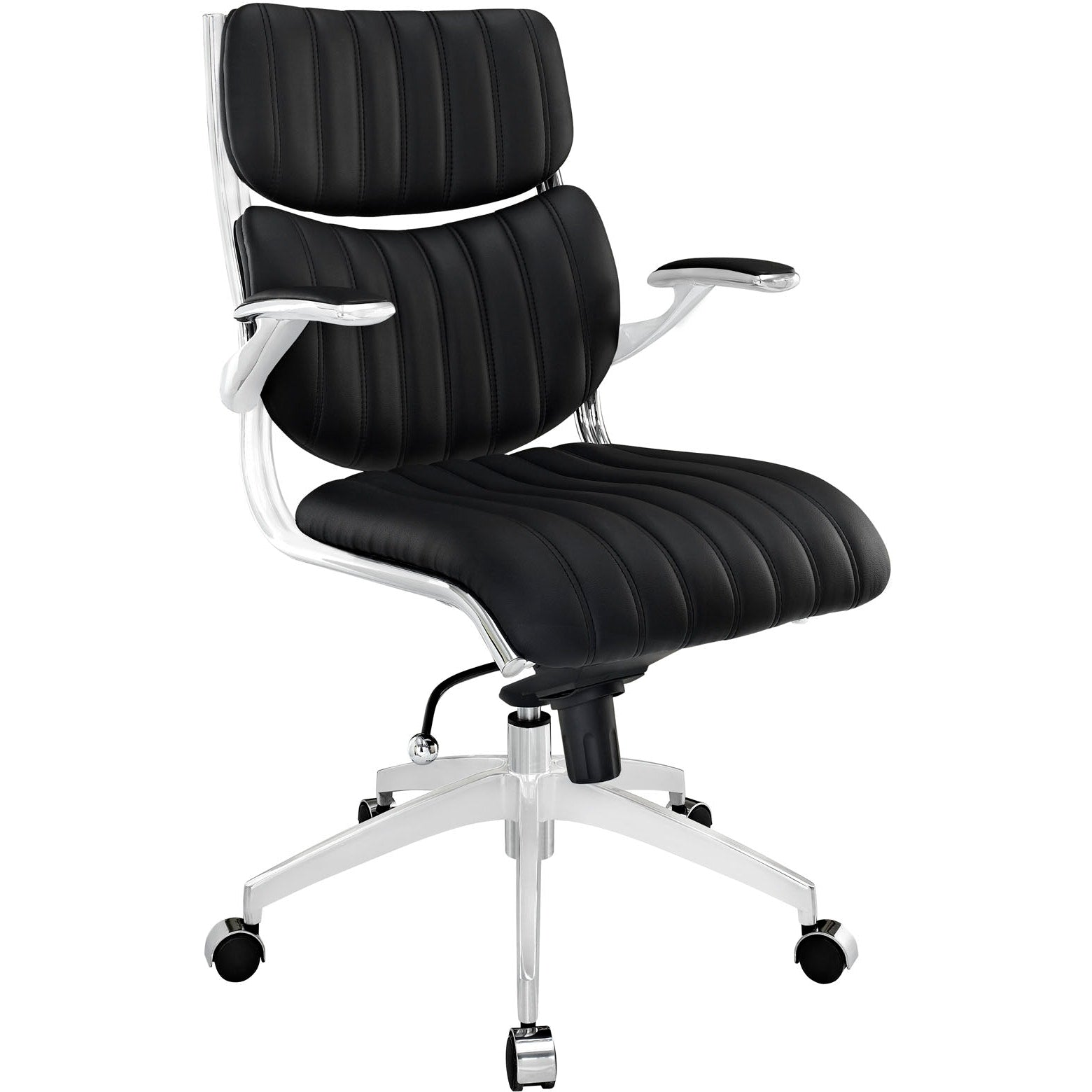 Escape Mid Back Office Chair - Black