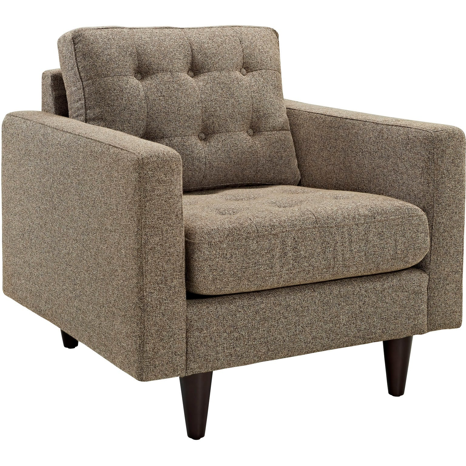 Empress Sofa and Armchairs Set of 3 - Oatmeal
