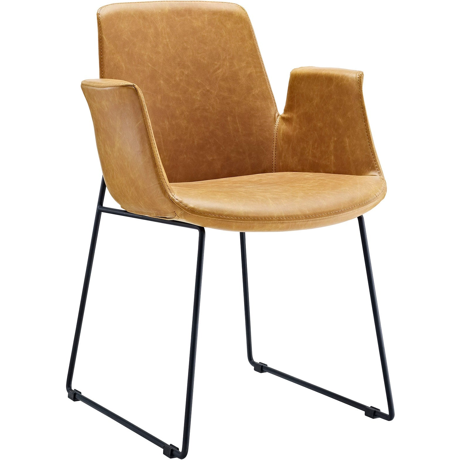 Aloft Dining Armchair - Tan