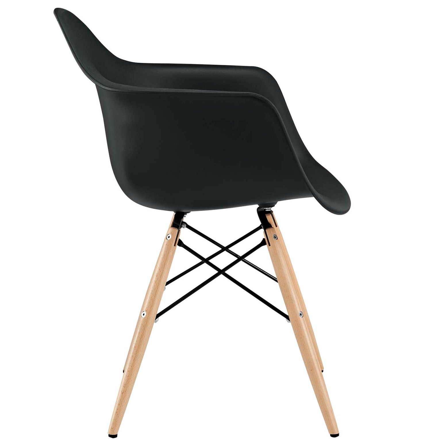Pyramid Dining Armchair - Black