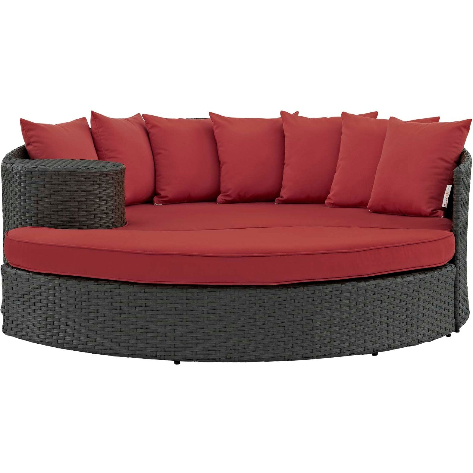 Sojourn Outdoor Patio Sunbrella® Daybed - Canvas Red