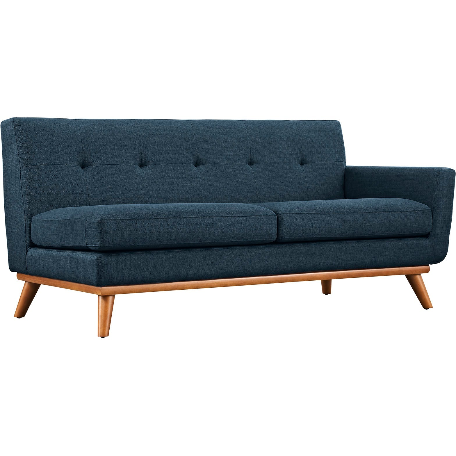 Engage Left-Facing Sectional Sofa - Azure