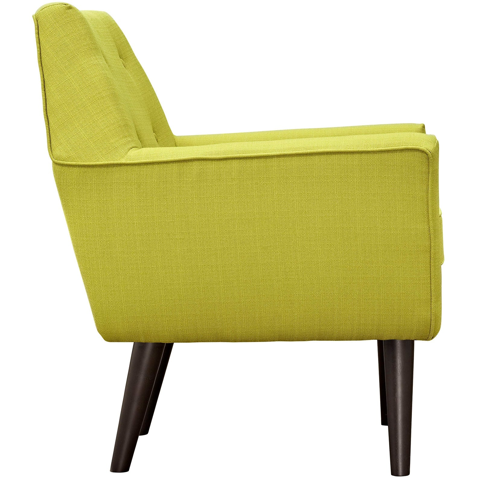Posit Upholstered Fabric Armchair - Wheatgrass