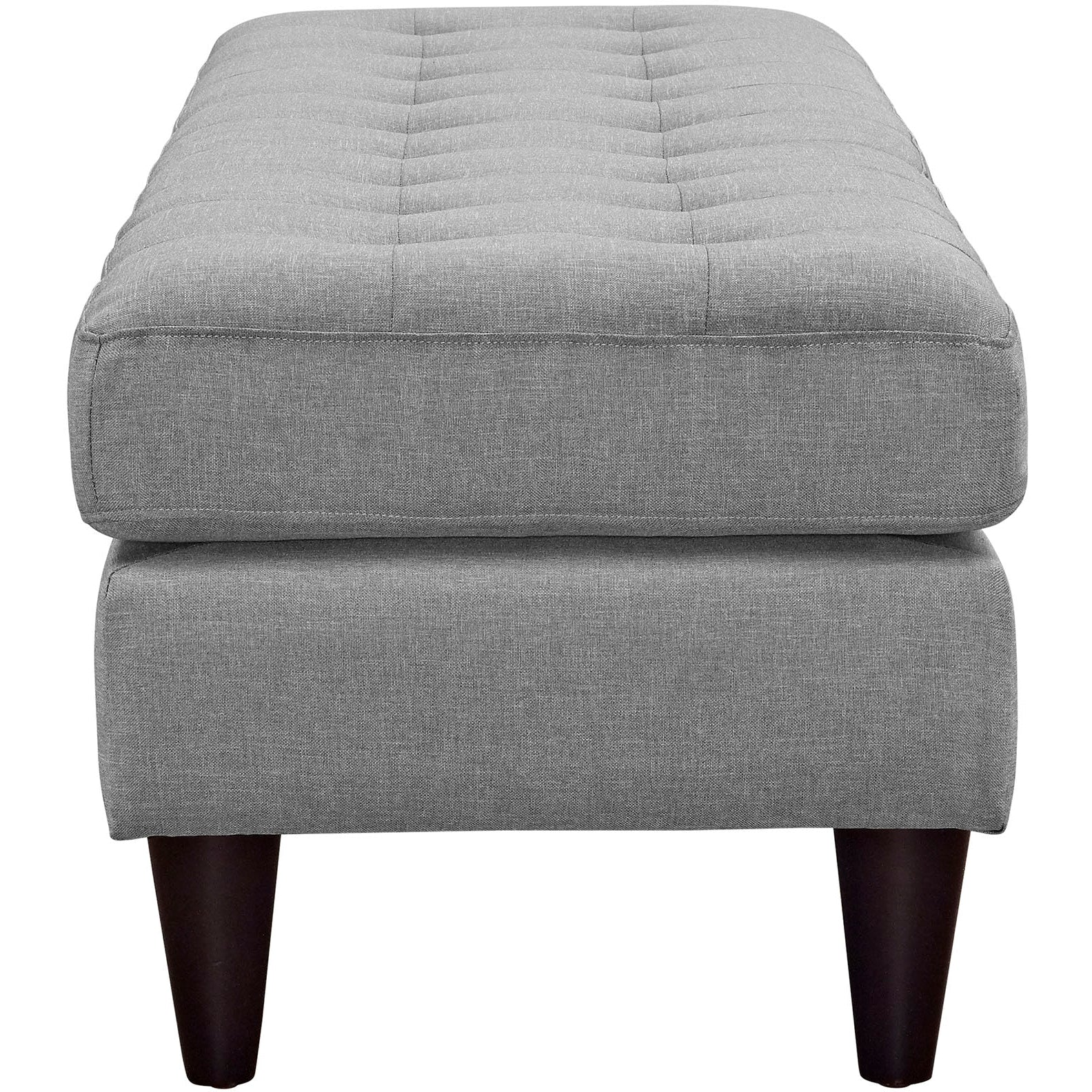 Empress Large Bench - Light Gray