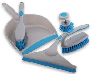 Household Cleaning Brush Kit