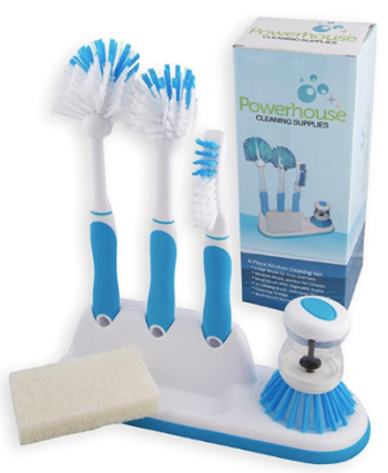 6-Piece All-in-One Kitchen Brush Kit