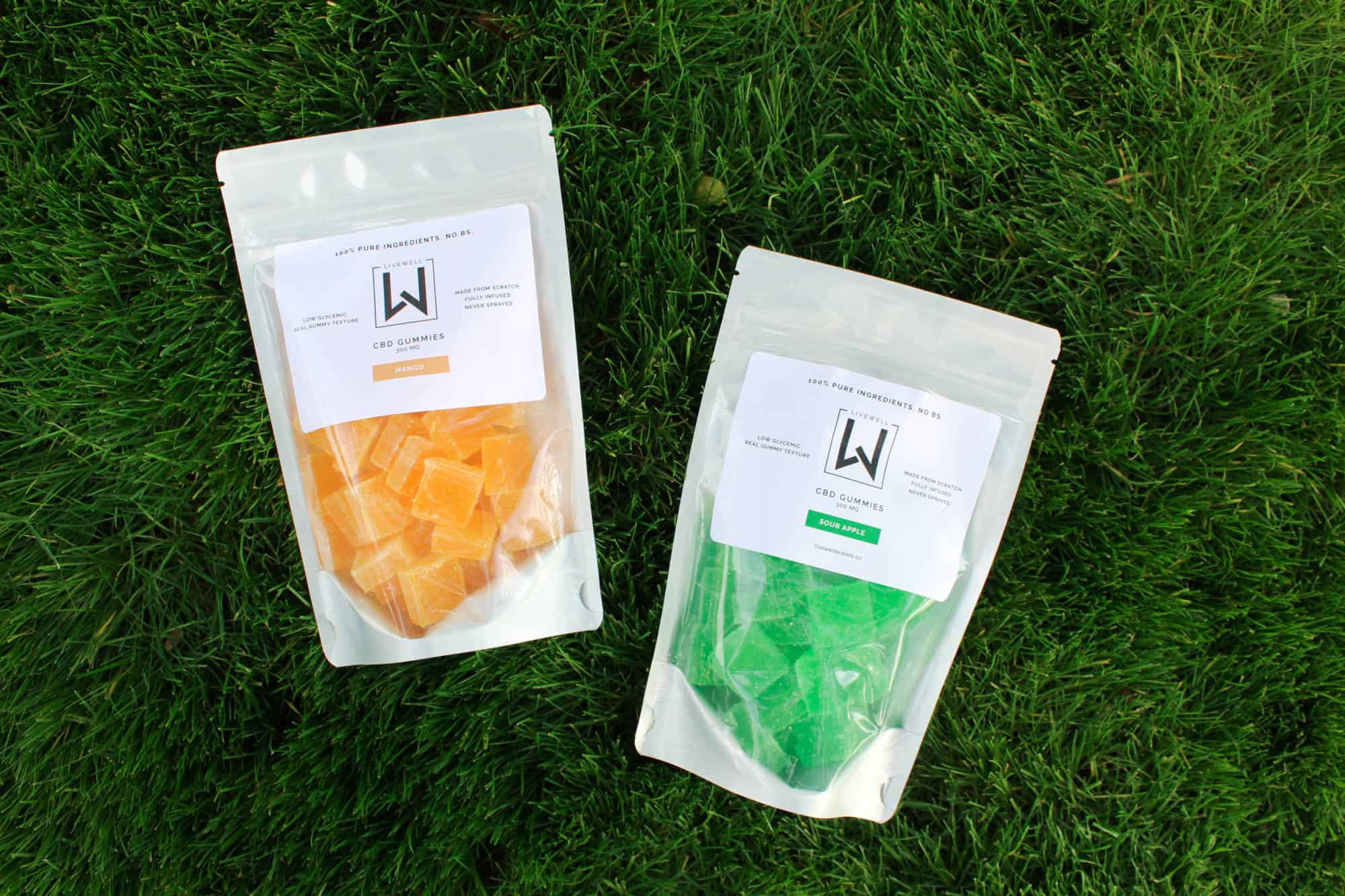All Natural CBD Gummies Apple