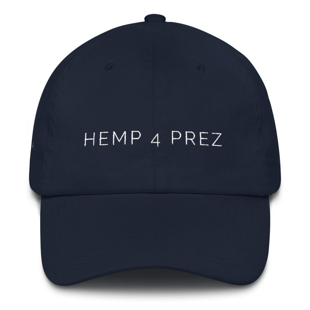 "Unisex ""Hemp 4 Prez"" Dad hat"