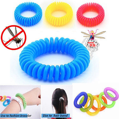 Anti Mosquito Insect Repellent Wrist Hair Band Bracelet Camping Outdoor Protect Your Child 1pcs - Estimated Delivery Time 18 Days