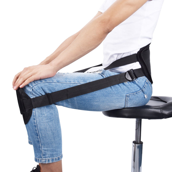 Adult Sitting Posture Correction Belt Clavicle Support Belt Better Sitting Spine Braces Supports Back Posture Corrector - healthcare