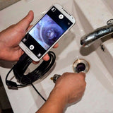 Endoscope Camera Flexible IP67 Waterproof Inspection Borescope Camera for Android Phone