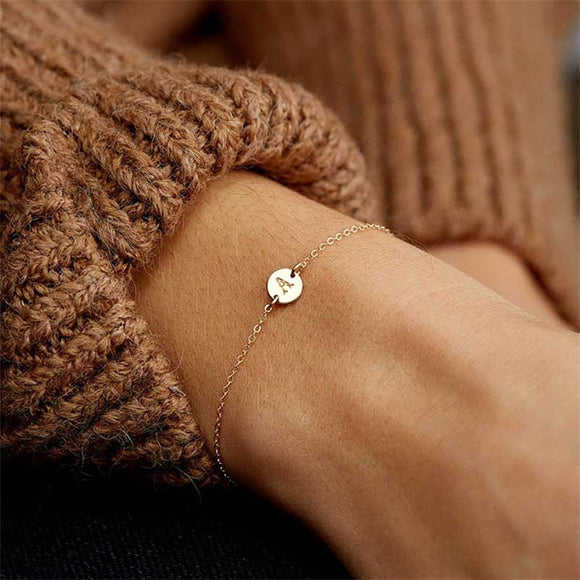 Fashionable Gold Color Bracelet and Bangle for Woman Adjustable Simple Bracelets Woman Jewelry Party Gifts - Free Shipping est.25 days Delivery