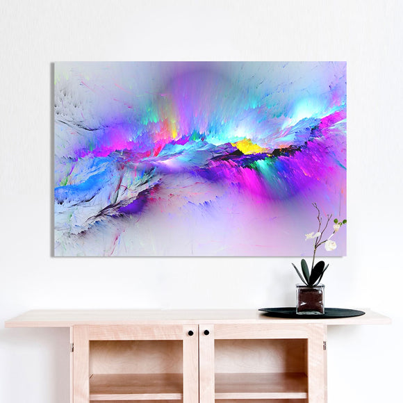 Wall Art Oil Painting Abstract Cloud Home Decor Landscape Picture For Living Room No Frame