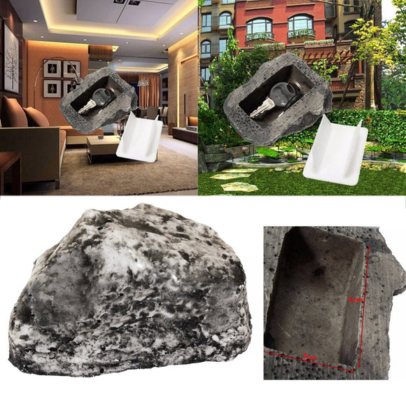 Key Hiding Rock Artificial Stone Hide A Spare Hider - Decor aeylist