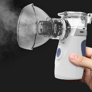 Mini Handheld Nebuliser Steaming Tool Health Care Atomizer Portable Respirator Humidifier Adult Kid Inhaler Nebulizer hot sell - healthcare