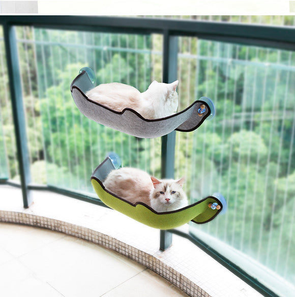 Cat Hammock Bed Mount Window Pod Lounger Suction Cups Warm Bed For Pet Cat Rest House