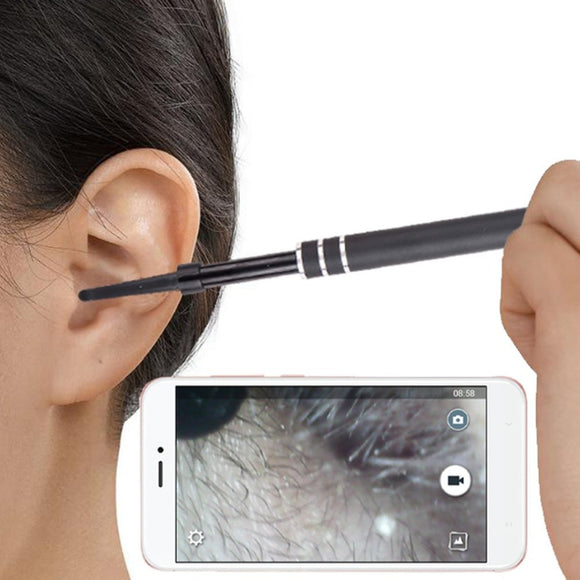 Multifunctional USB Ear Cleaning Endoscope HD Visual Ear Spoon Earpick With Mini Camera Ear Health Care Cleaning Tool - healthcare