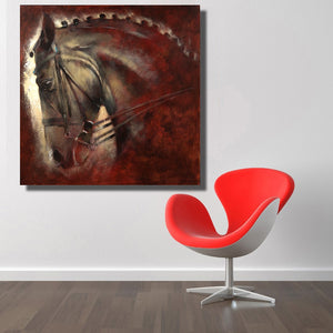 Modern Horse poster wall art pictures print on canvas for home decoration paintings for living room no frame