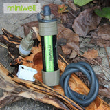 Personal Water Filter Good For Outdoor Sport Travel & Backpacking - aeylist