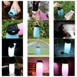 Camping Light Water Bottle Solar cell Charging Phone Charging Outdoor - Aeylist - Free Shipping est.25 days Delivery
