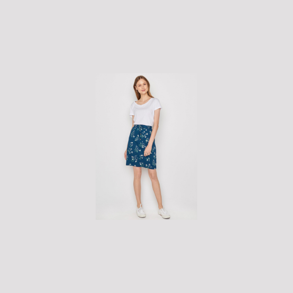 Greenbomb Spring Party Skirt Sailor Blue