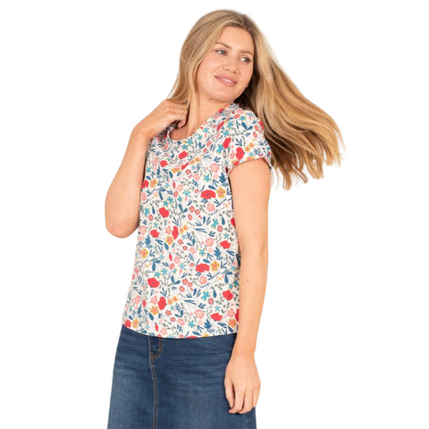 Brakeburn Organic Cotton Botanical Top