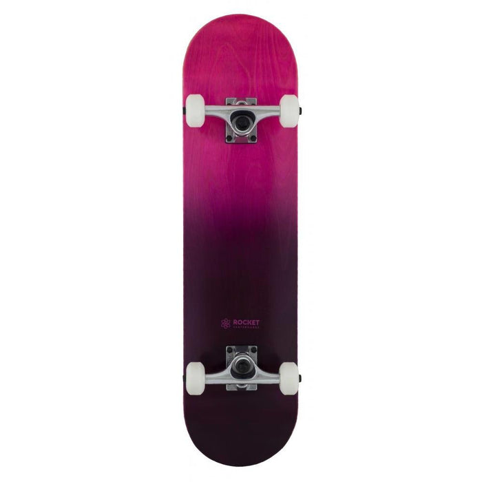 Rocket Complete Skateboard Double Dipped Purple- 7.75""