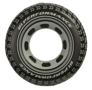 Intex Black Tire