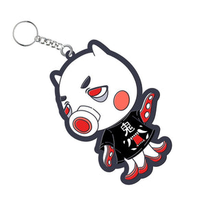 Animal Crossing Oni Octopus Villager Keychain - Totem Media