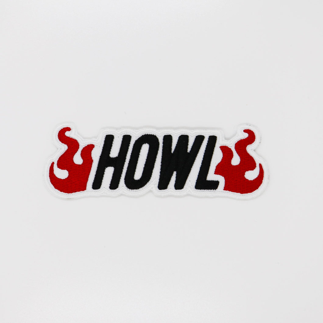 Howl Iron on Patch - Totem Media
