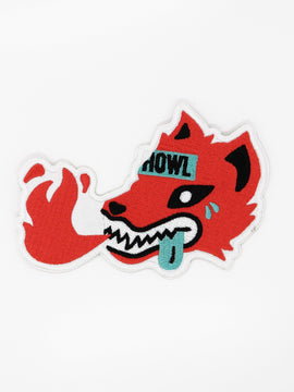 Iron on Wolf Patch