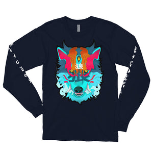 Demon Okami Long sleeve t-shirt - Totem Media