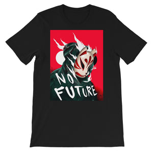 Kitsune No Future Short-Sleeve Unisex T-Shirt - Totem Media