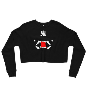 Oni Crop Sweatshirt - Totem Media