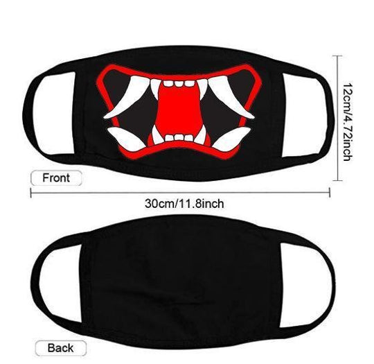 Adjustable Oni Face Mask