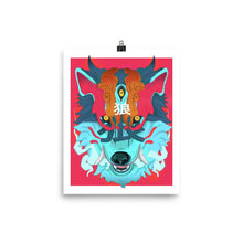 Load image into Gallery viewer, Oni Wolf Poster - Totem Media
