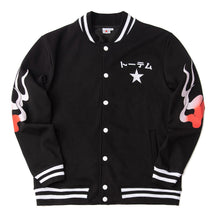 Load image into Gallery viewer, Wolf Geisha Varsity Jacket - Totem Media