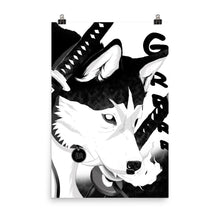 Load image into Gallery viewer, Wolf God Poster - Totem Media