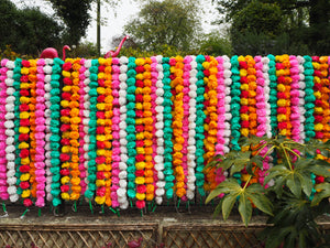 Artificial Decorative Marigold Garlands Strings