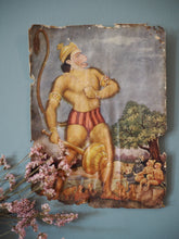 Load image into Gallery viewer, Vintage Hindu Hanuman Devotional Puja Print Lithograph