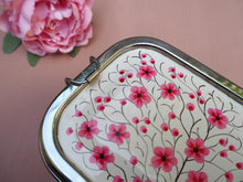 Load image into Gallery viewer, Hand Painted Kashmir Enamelware Floral Kitsch Glamping Lunch Box