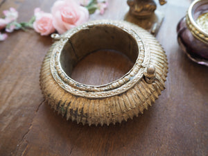 Vintage Rare Indian Tribal Orissa Sawblade Cuff