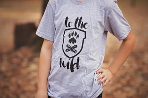 Wild Explorers T-Shirt - Gray