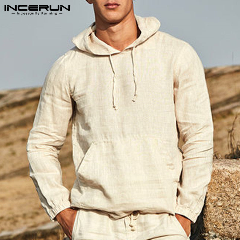 Male Outwear Stylish Men Hoodies Pullover Sweatshirts